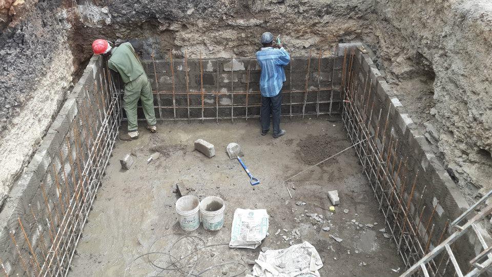Underground water tank construction – South C , Nairobi